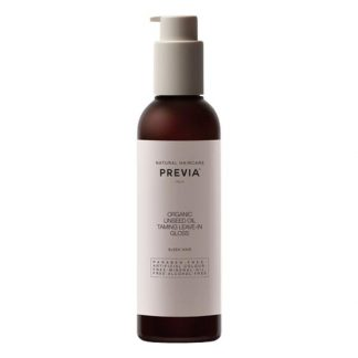 PREVIA Organic Linseed Oil Taming Leave-in Gloss